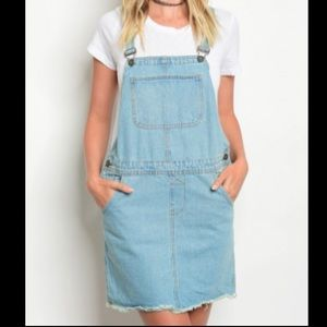 Timing Denim Collection Overall Dress (M)